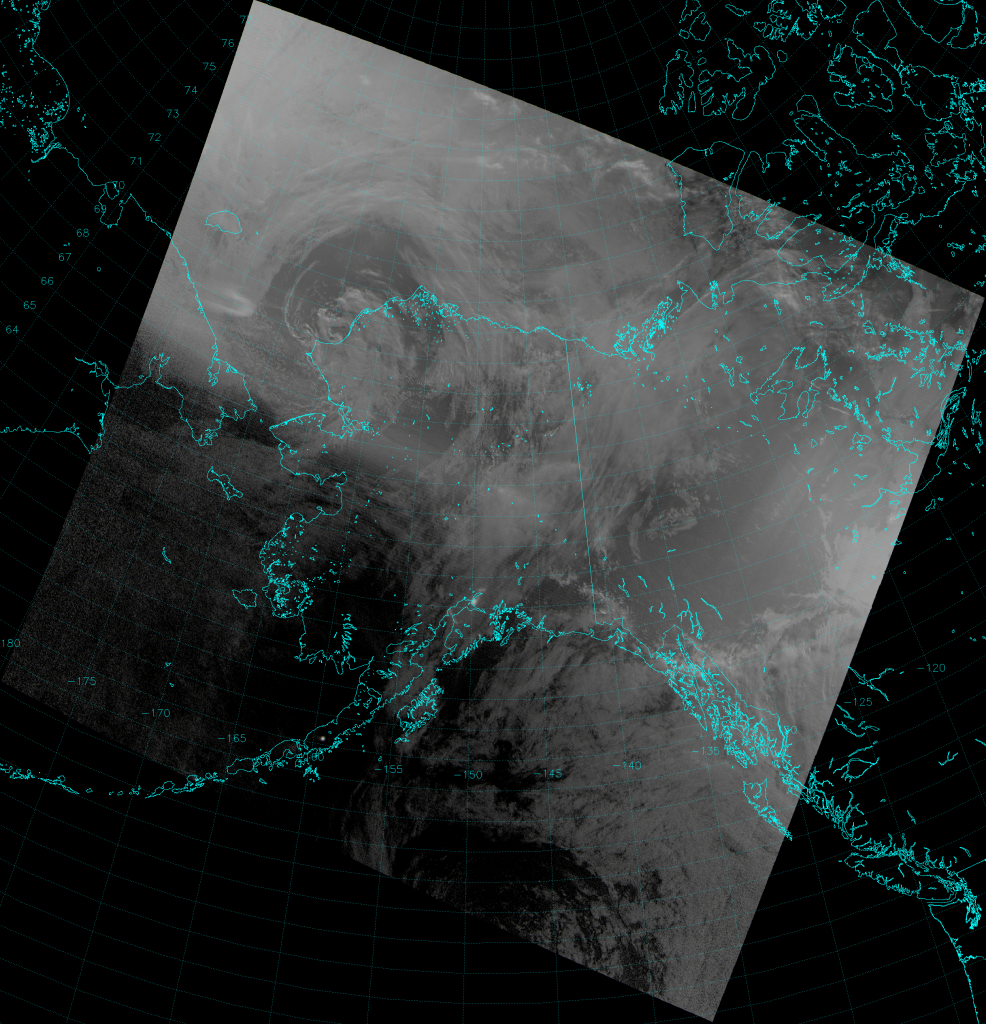 VIIRS NCC image, taken 12:30 UTC 30 August 2013