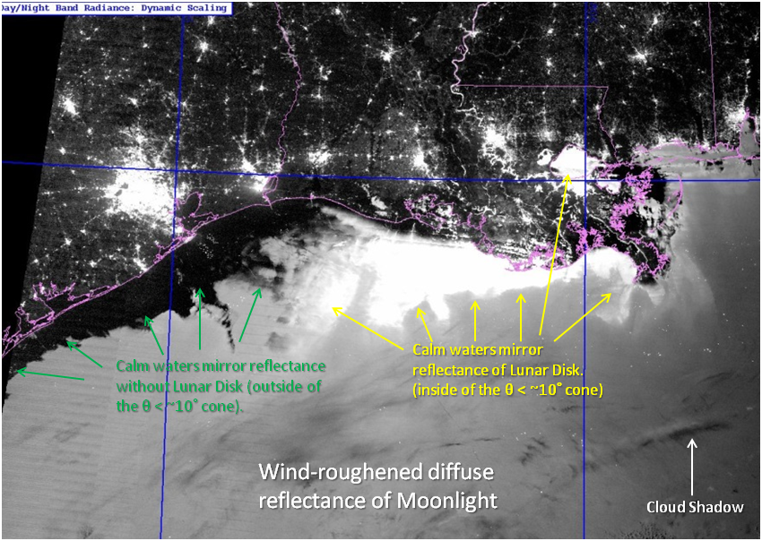 VIIRS Day/Night Band image, taken 07:41 UTC 12 January 2014