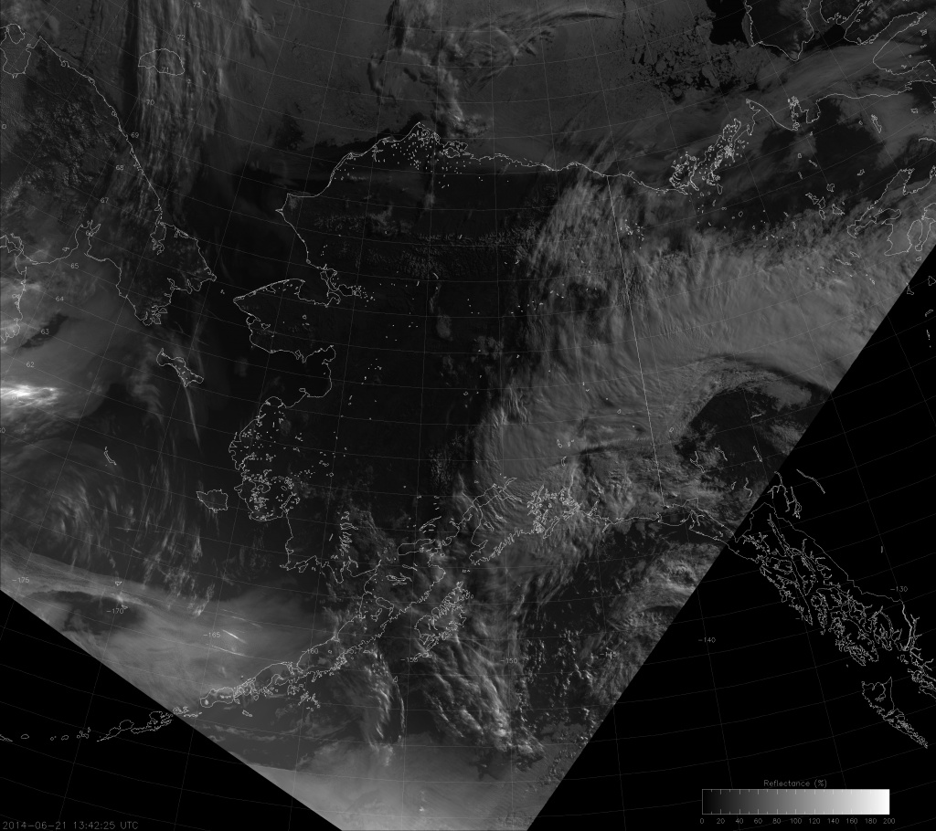 VIIRS NCC image from 13:48 UTC 21 June 2014