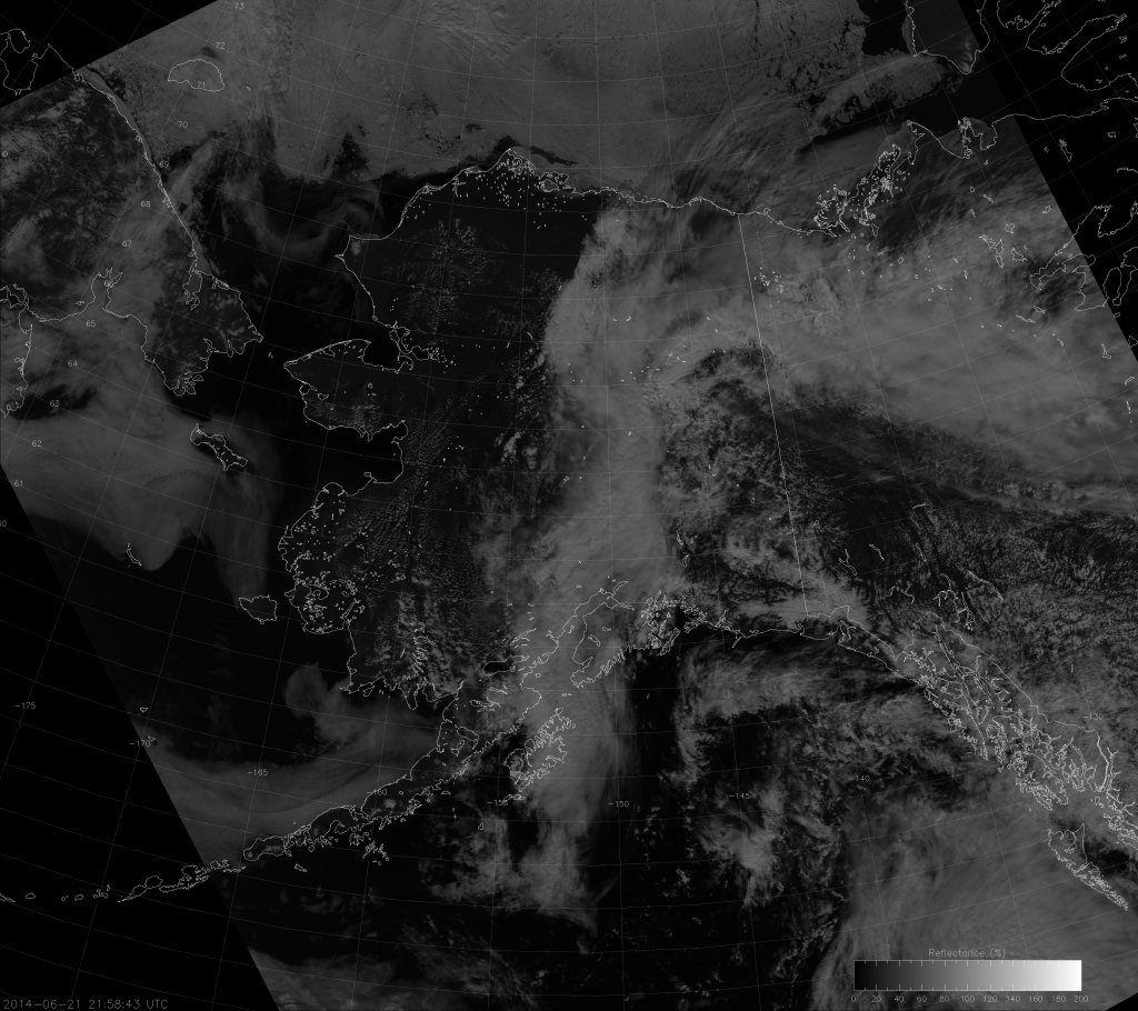 VIIRS NCC image from 21:58 UTC 21 June 2014