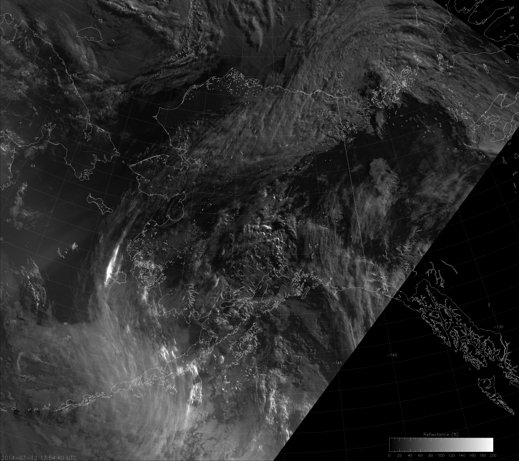 VIIRS NCC image from 13:53 UTC 12 July 2014