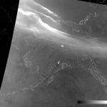 "VIIRS DNB image with modified ""erf-dynamic scaling"" (12:07 UTC 15 January 2015)"