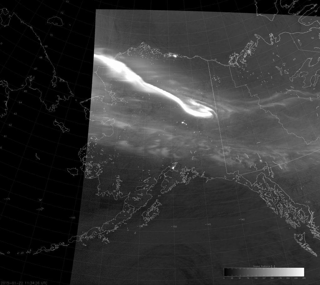"VIIRS DNB image with modified ""erf-dynamic scaling"" (11:34 UTC 22 January 2015)"
