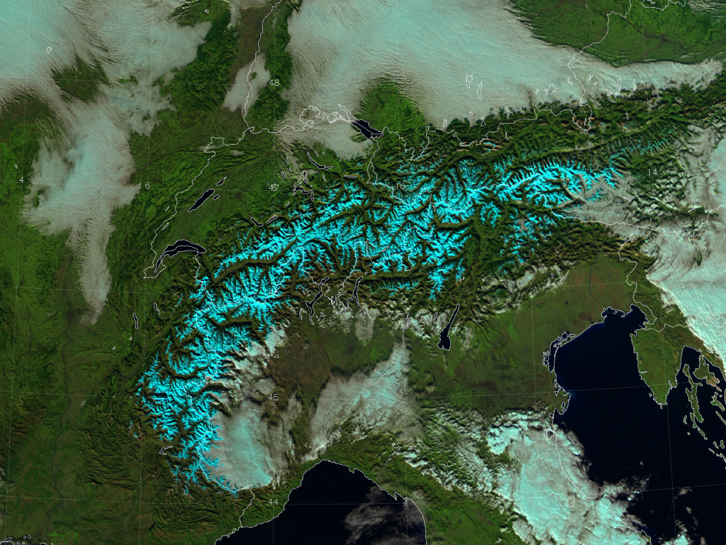"VIIRS ""natural color"" composite of channels I-01, I-02 and I-03, taken 12:29 UTC 14 November 2012"
