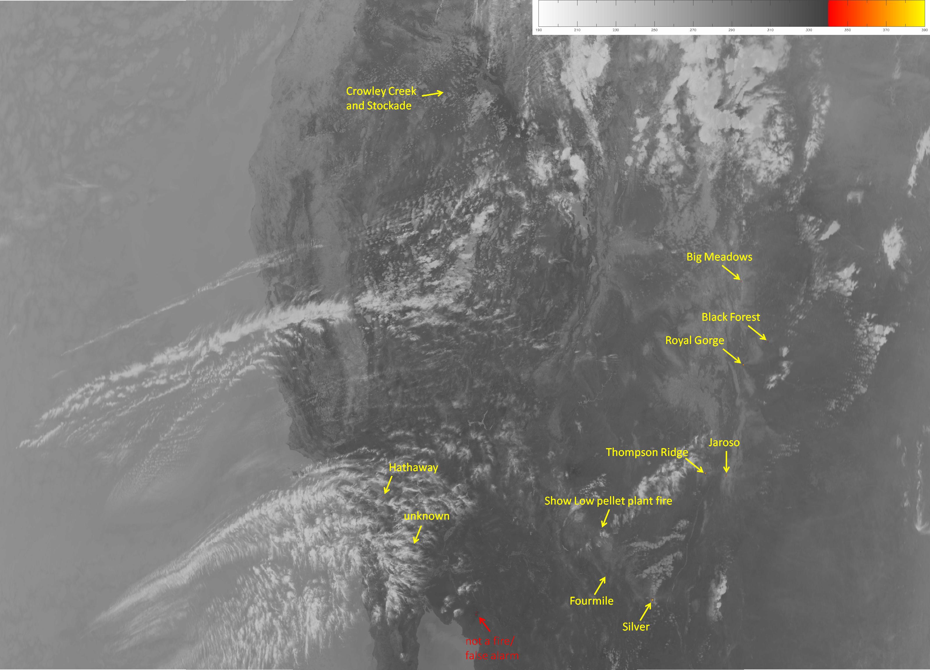 VIIRS M-13 image, taken 20:36 UTC 11 June 2013