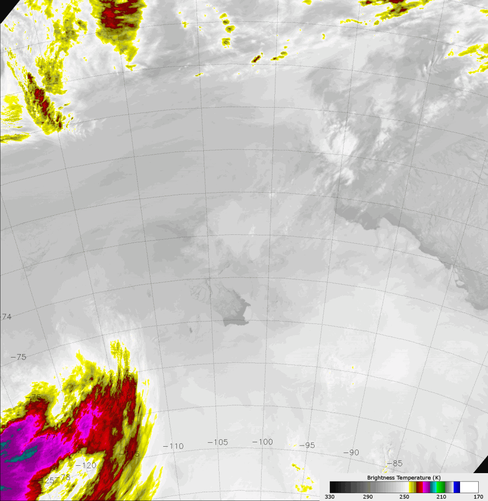 VIIRS IR image (M-15) taken 23:34 UTC 7 November 2013