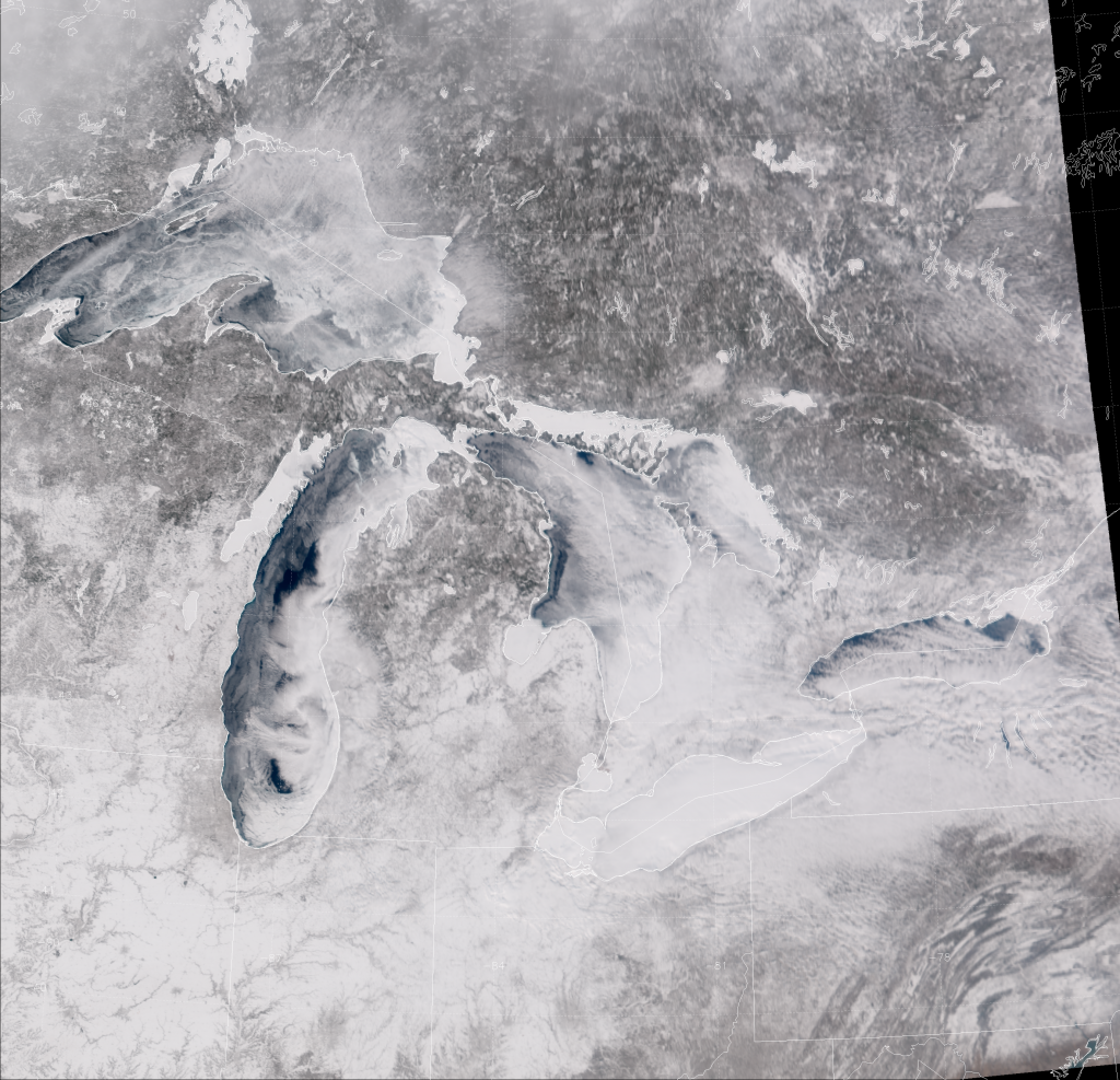 "VIIRS ""True Color"" composite of channels M-3, M-4 and M-5, taken 19:07 UTC 11 February 2014"