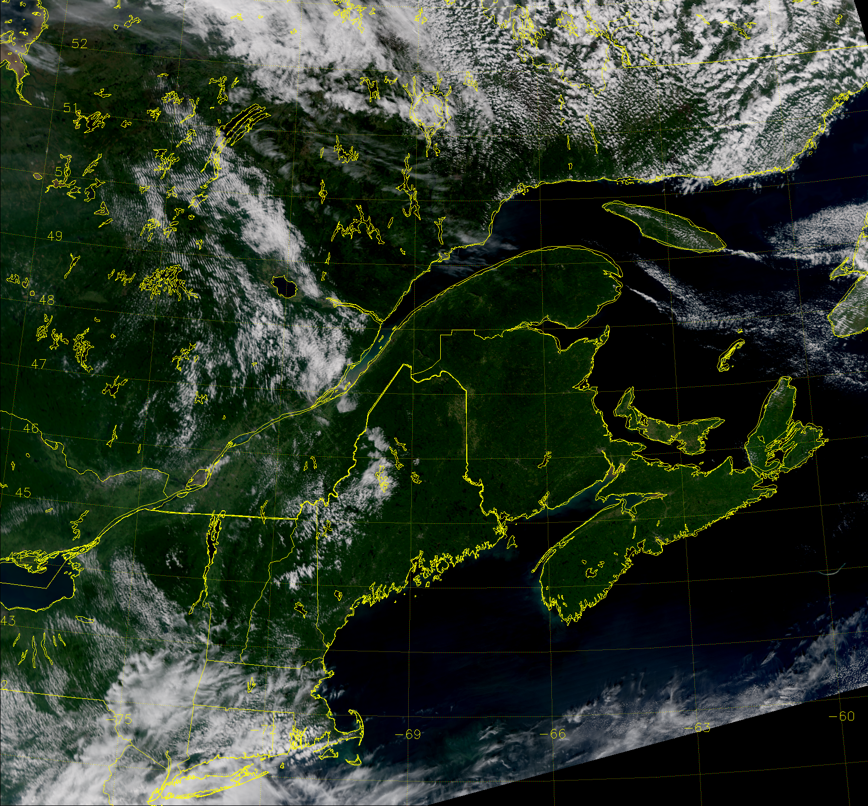 VIIRS True Color RGB composite of channels M-3, M-4 and M-5, taken 17:13 UTC 8 September 2014