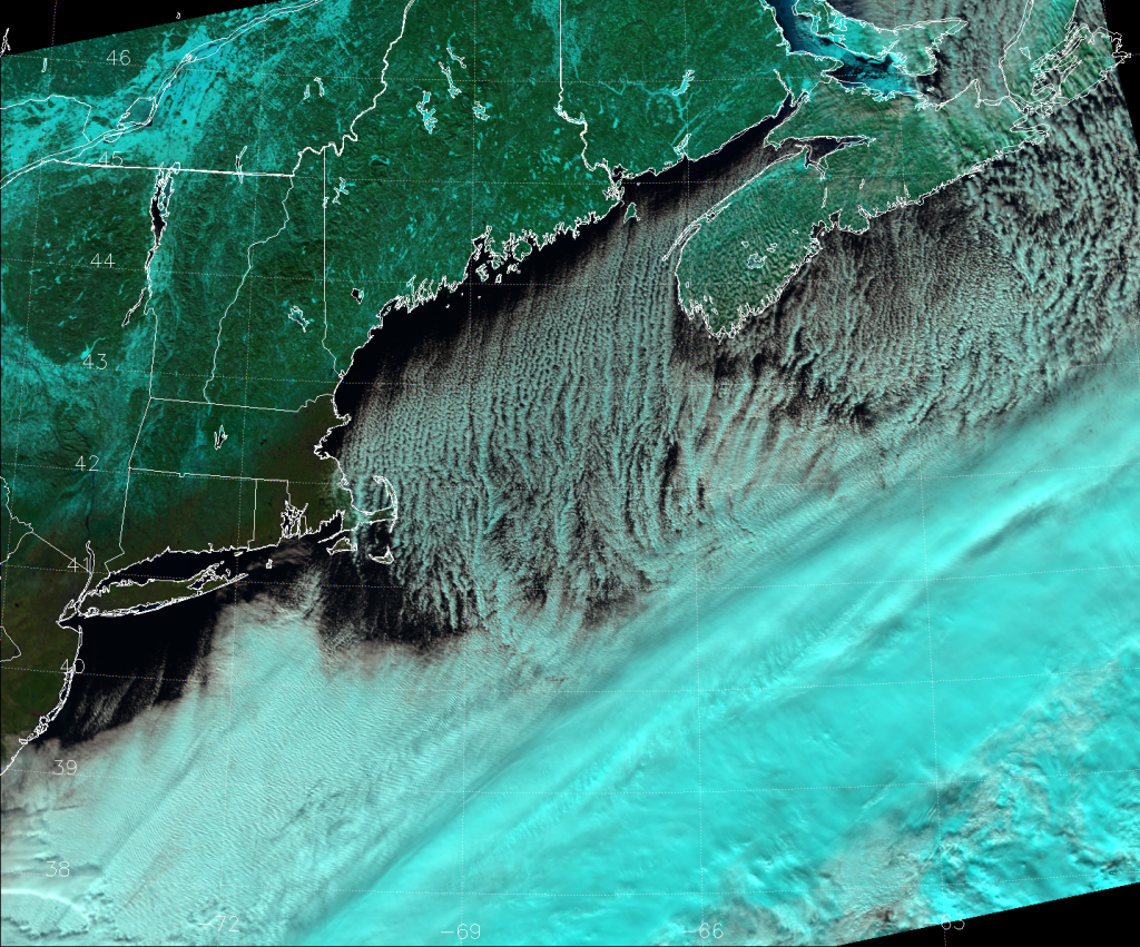 "VIIRS ""Natural Color"" RGB composite, taken 17:29 UTC 13 January 2015"