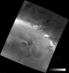 VIIRS DNB image of the aurora australis, 10:15 UTC 17 March 2015