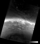 VIIRS DNB image of the aurora australis, 16:55 UTC 17 March 2015