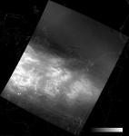 VIIRS DNB image of the aurora borealis, 18:02 UTC 17 March 2015