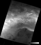 VIIRS DNB image of the aurora australis, 18:39 UTC 17 March 2015