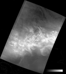 VIIRS DNB image of the aurora australis, 23:46 UTC 17 March 2015