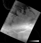 VIIRS DNB image of the aurora australis, 03:10 UTC 18 March 2015