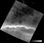 VIIRS DNB image of the aurora australis, 04:52 UTC 18 March 2015