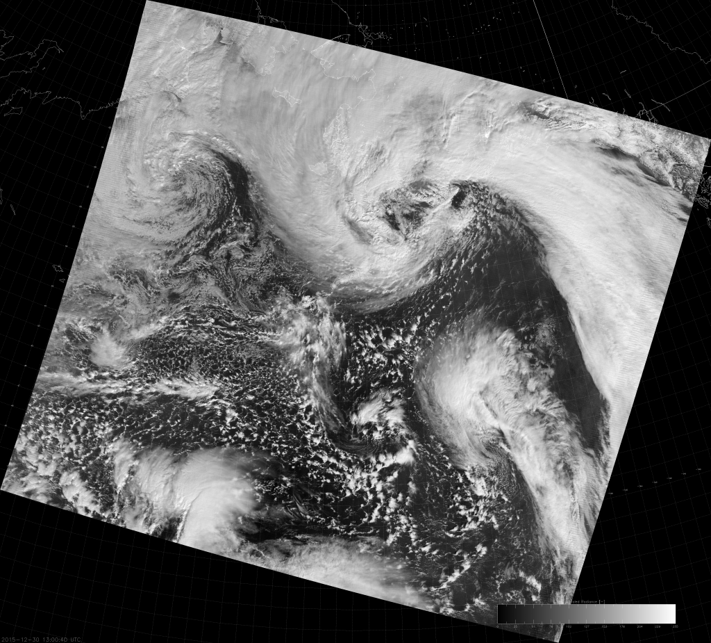 VIIRS DNB image (13:00 UTC 30 December 2015)