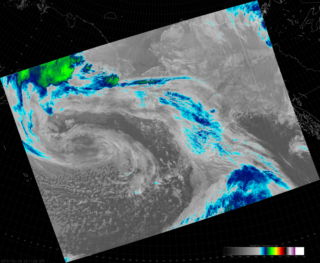 VIIRS I-5 image (23:17 UTC 18 December 2015)