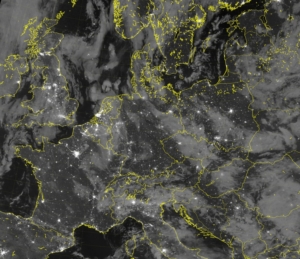 VIIRS Day/Night Band image (01:20 UTC 21 September 2016)