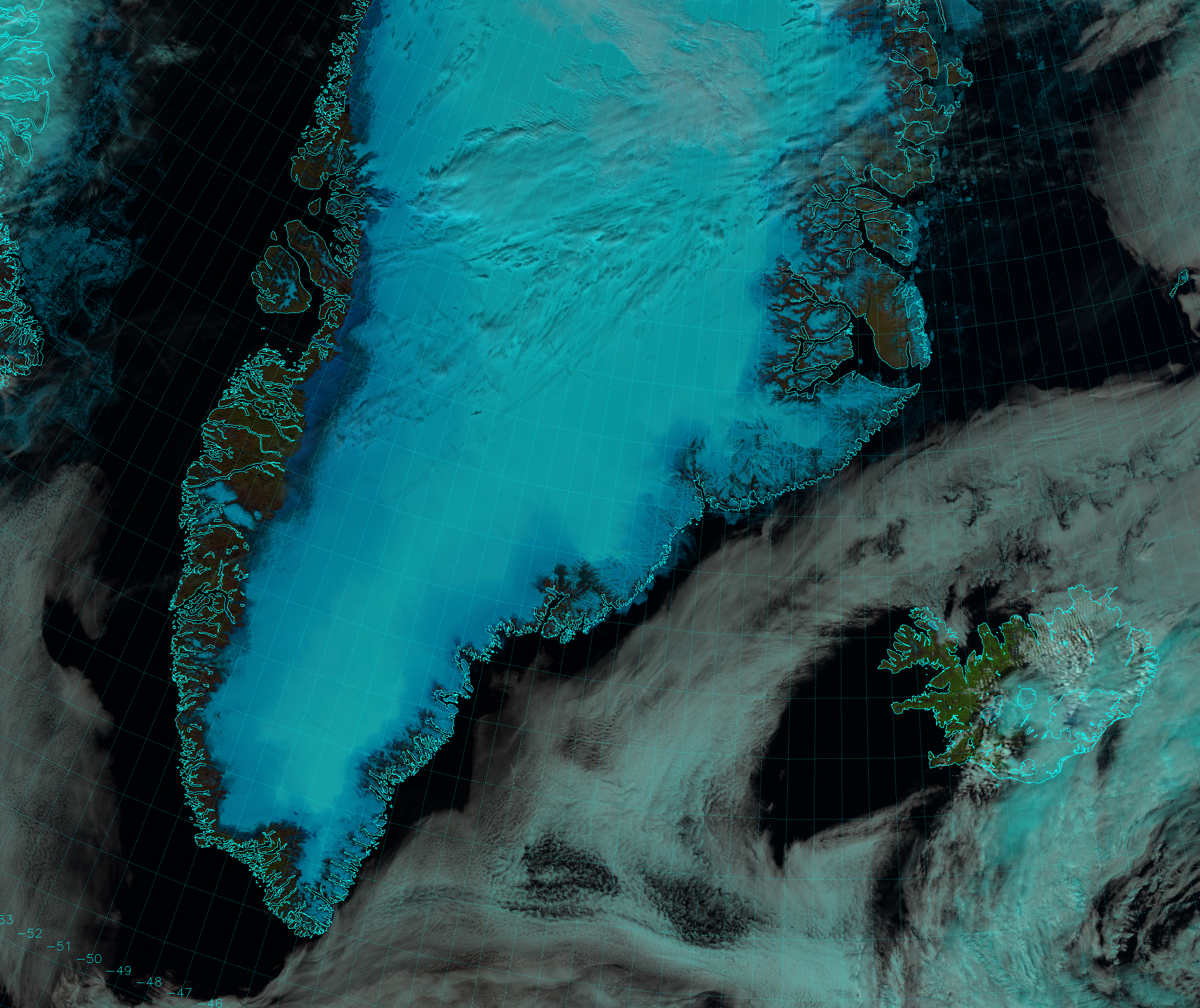 false color | Suomi NPP (National Polar-orbiting Partnership)