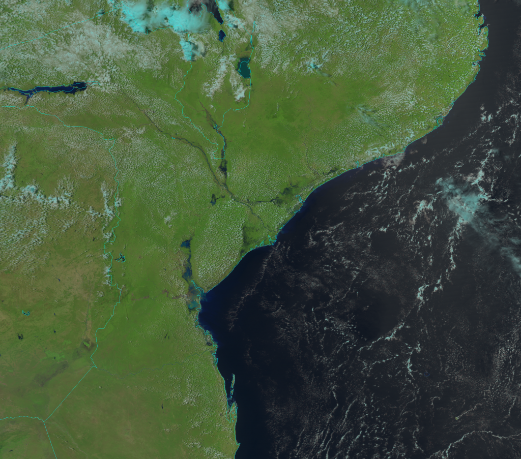 NOAA-20 VIIRS Natural Color RGB composite image (10:47 UTC, 25 March 2019)