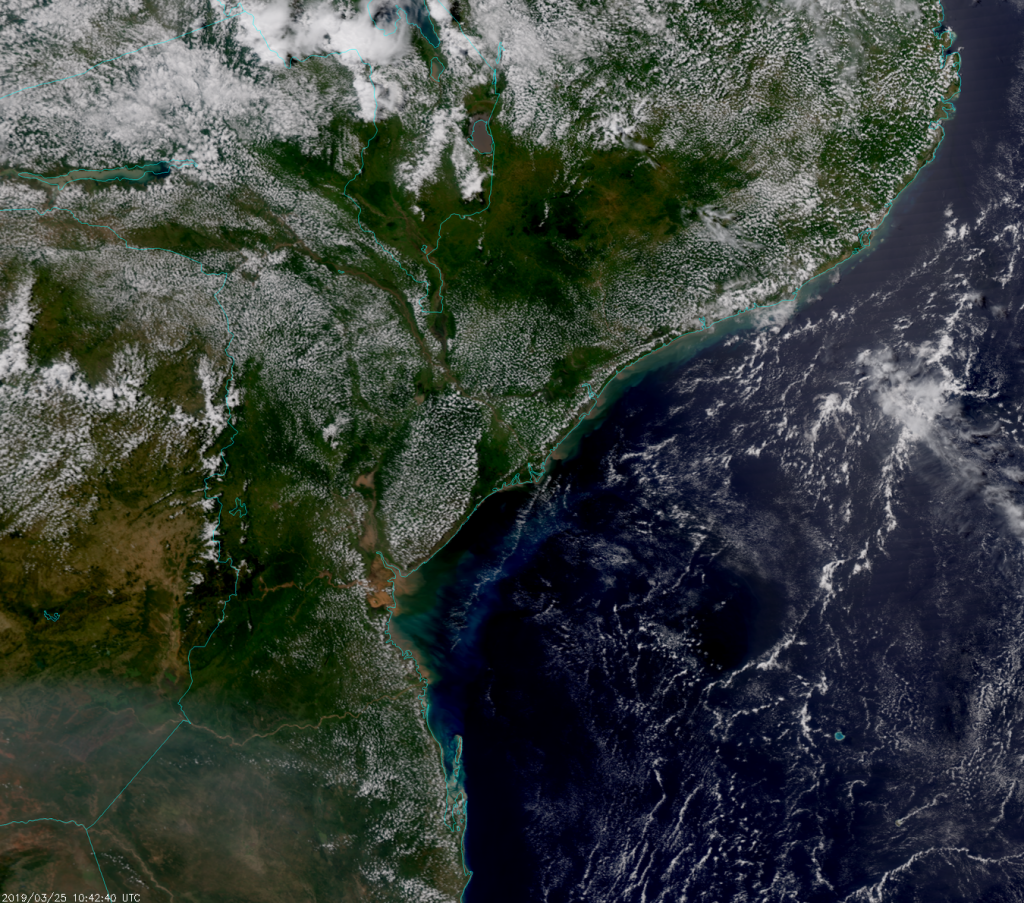 NOAA-20 VIIRS True Color composite image (10:42 UTC, 25 March 2019)