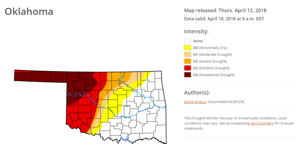 Oklahoma Wildfires | VISIT: Meteorological Interpretation Blog